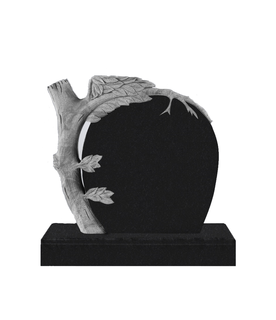 Памятник Э. 1100*1000*100 (№ 16 К06, габбро черный)