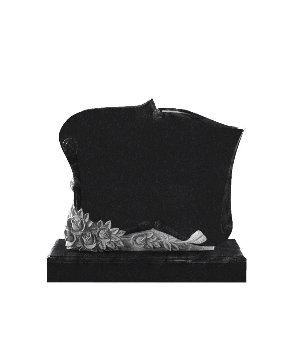 Памятник Э. 1200*1000*100 (№ 7 К06, габбро черный)