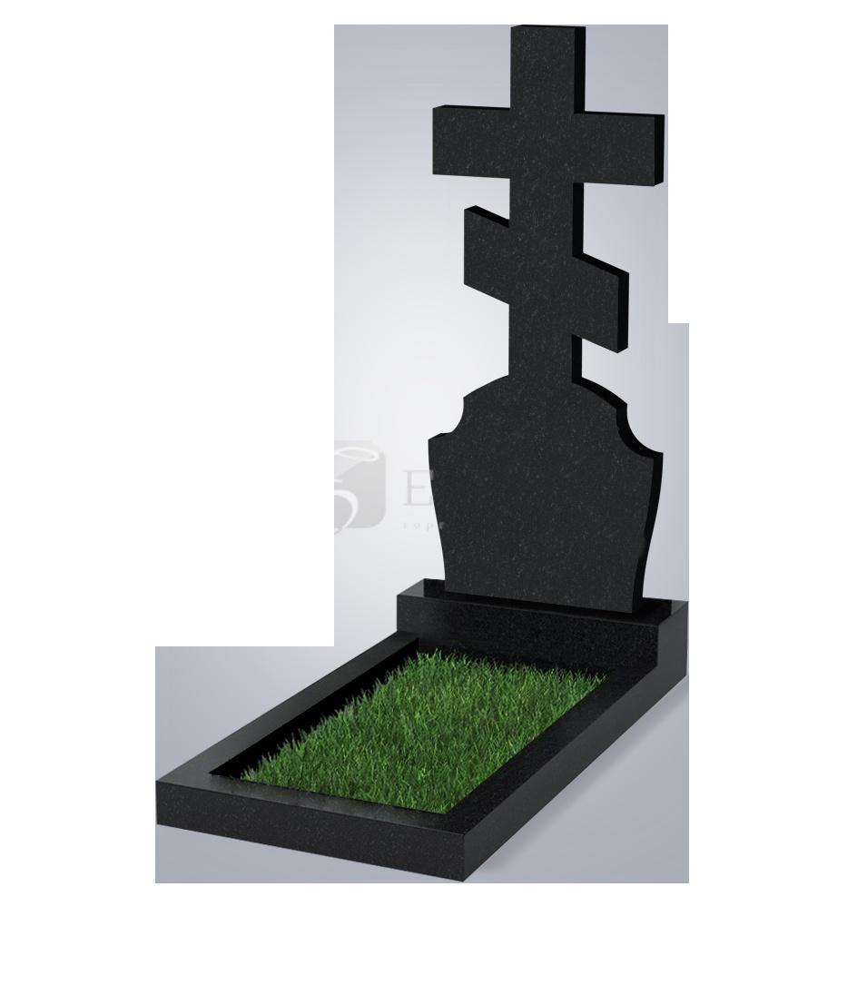 040 Памятник фиг. 1200*500*70 (№ 40 К06, габбро черный)