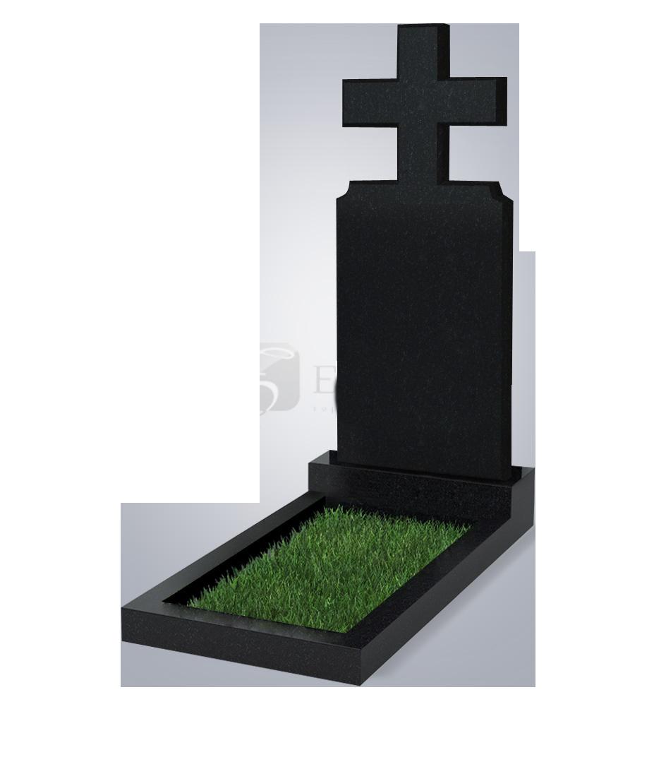 100 Памятник фиг. 1200*500*70 (№ 100 К06, габбро черный)