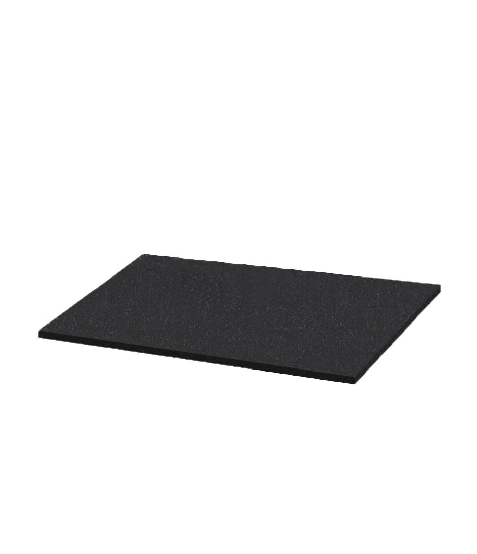 Плита Н. 1280*600*30 (N 7, К06, габбро черный)