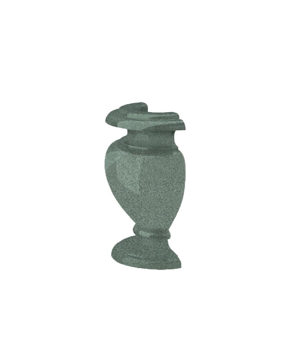 Полуваза H 200 R45 (VH20, К02, габбро зеленый)