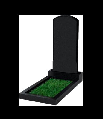 Памятник №18 экономный вертикальный 1000*450*50 (Россия, черный)