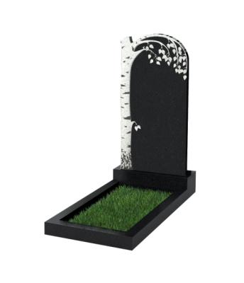 Памятник №84 экономный вертикальный 1000*500*50