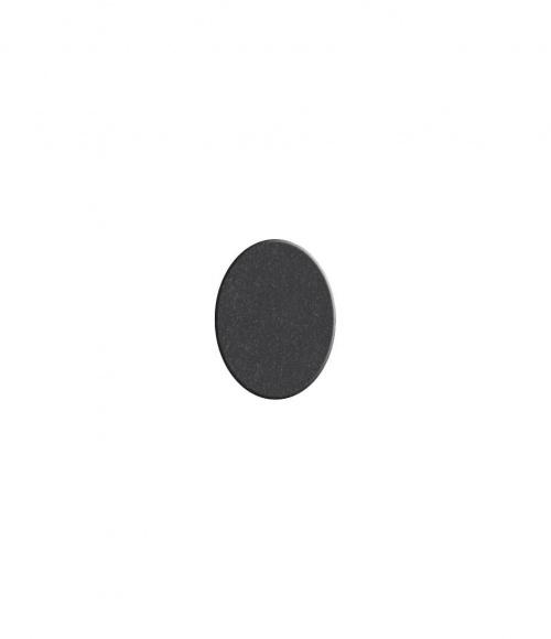 Плитка овальная №S01 (Китай, черная К06)