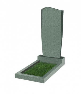 Памятник №21 резной вертикальный 1100*500*70 (Китай, зеленый К02)