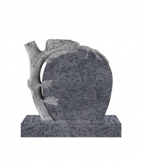 Памятник №16 элитный вертикальный 1000*1100*100 (Индия, голубой К10)