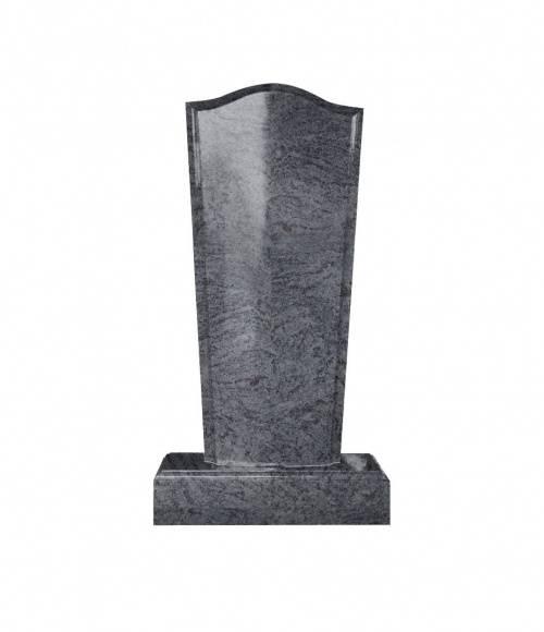 Памятник №19 элитный вертикальный 1500*700*150 (Индия, голубой К10)