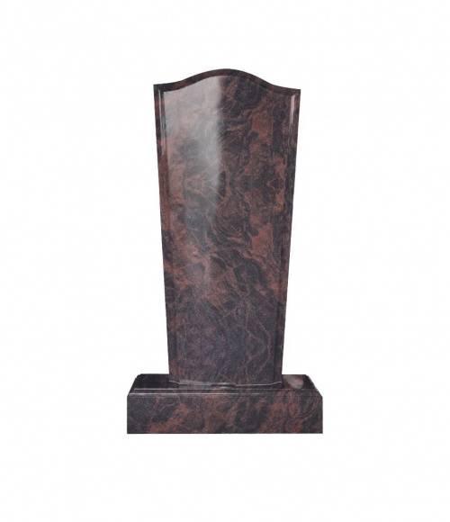 Памятник №19 элитный вертикальный 1500*700*150 (Индия, коричневый К11)