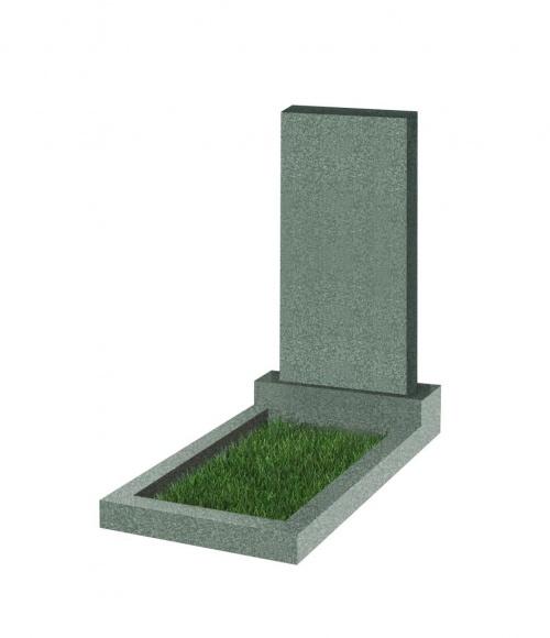 Памятник прямоугольный вертикальный  800*400*50 (Китай,зеленый К02)