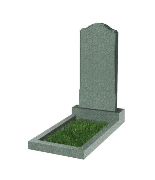 Памятник №11 резной вертикальный 1100*500*70 (Китай, зеленый К02)