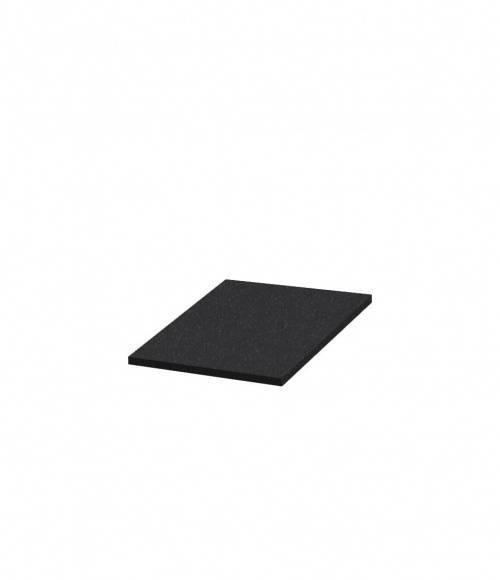 Надгробная плита N08 (Китай, черная К06) 600*550*30