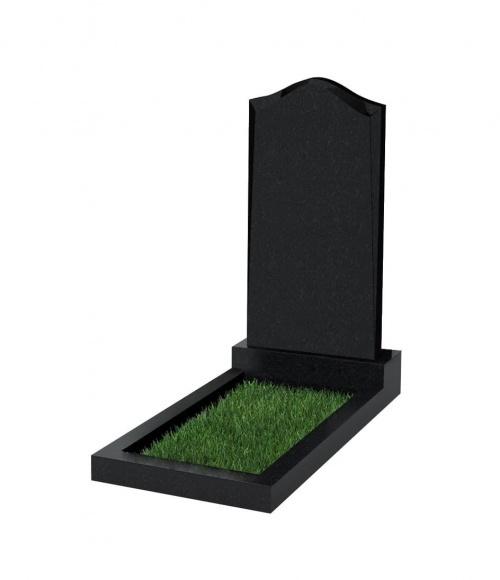 Верона Памятник №22 экономный вертикальный 1000*500*50 (Черный К13)