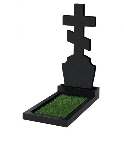 Верона Памятник №40 экономный вертикальный 1000*500*50 (Черный К13)