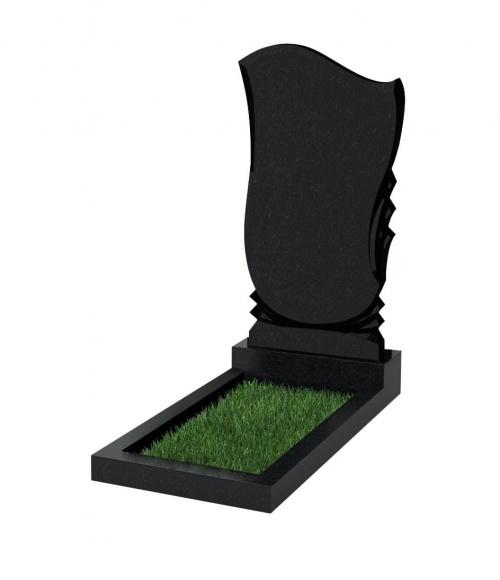 Верона Памятник №56 экономный вертикальный 1000*500*50 (Черный К13)