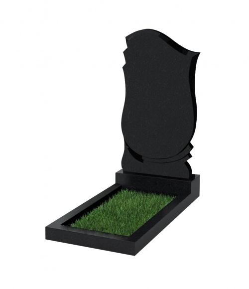 Верона Памятник №58 экономный вертикальный 1000*500*50 (Черный К13)