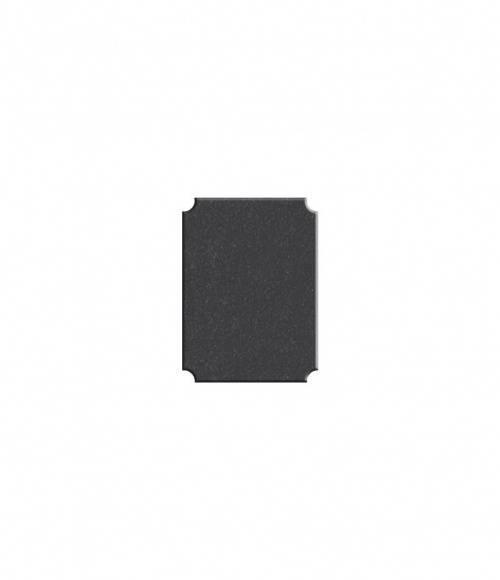 Плитка фигурная №S04 (Китай, черная К06) 400*300*10