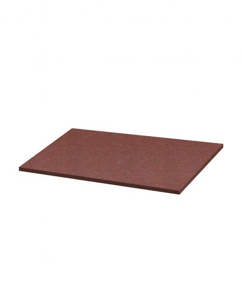 Надгробная плита N09 (Индия, красная К05) 1030*550*30