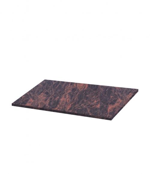 Надгробная плита N09 (Индия, коричневая К11) 1030*550*30