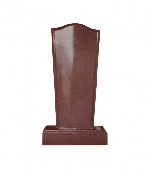 Памятник №19 элитный вертикальный 1500*700*150 (Индия, красный К05)