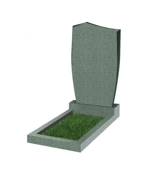 Памятник №29 резной вертикальный 1000*600*70 (Китай, зеленый К02)