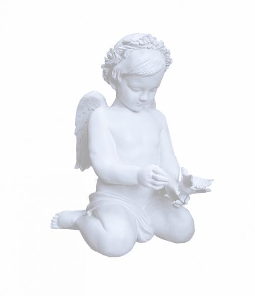 Скульптура 048 Ангелок на коленях 600*500*400