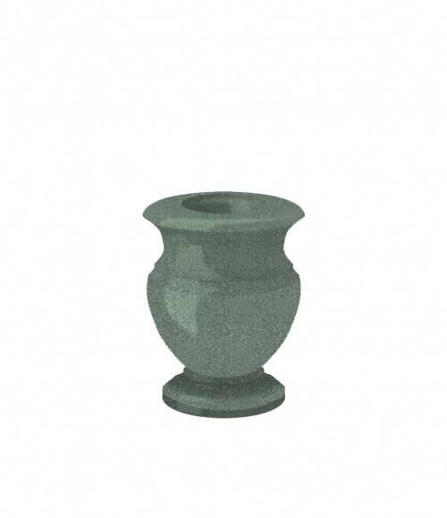 Ваза (Китай, зеленая К02) H200, D100