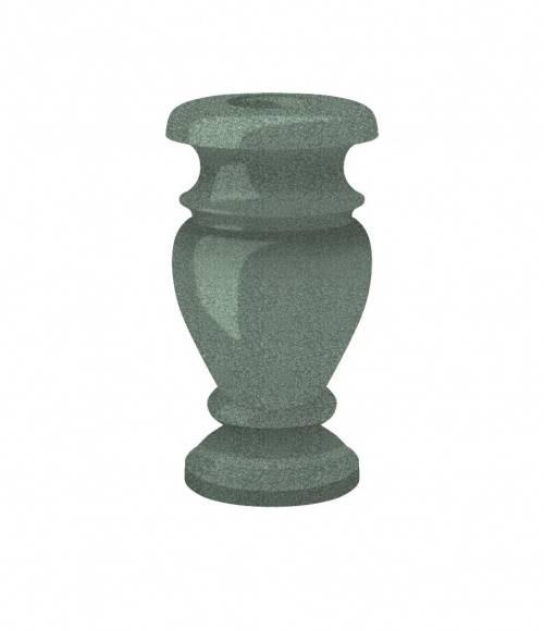 Ваза (Китай, зеленая К02) H300, D130