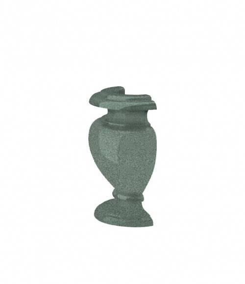 Полуваза (Китай, зеленая К02) H200, R50