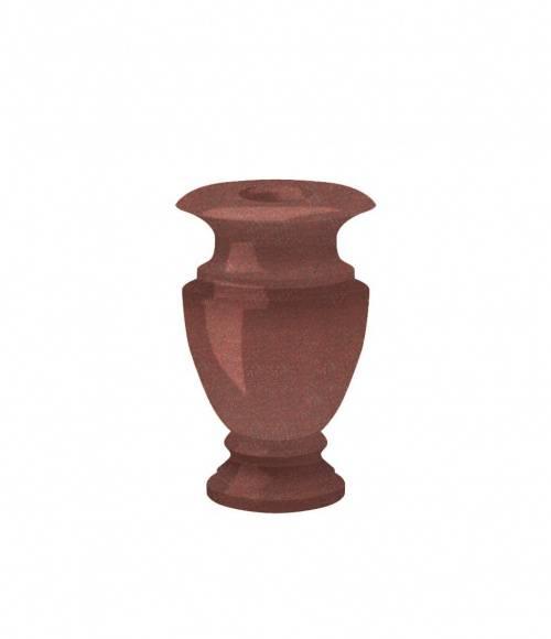 Ваза (Индия, красная К05) H250, D100