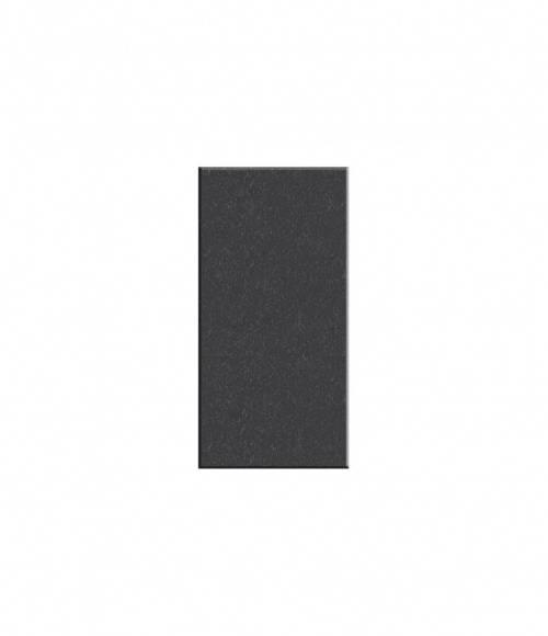 Плитка прямоугольная №S09 (Китай, черная К06) 600*300*15