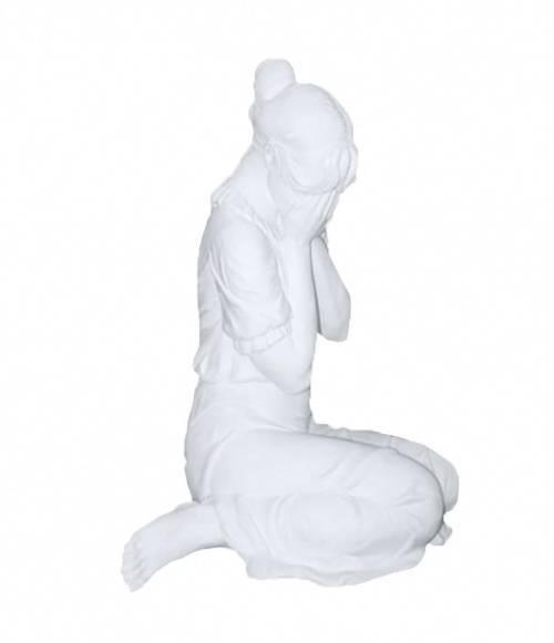 Скульптура 018 Скорбящая 800*700*500