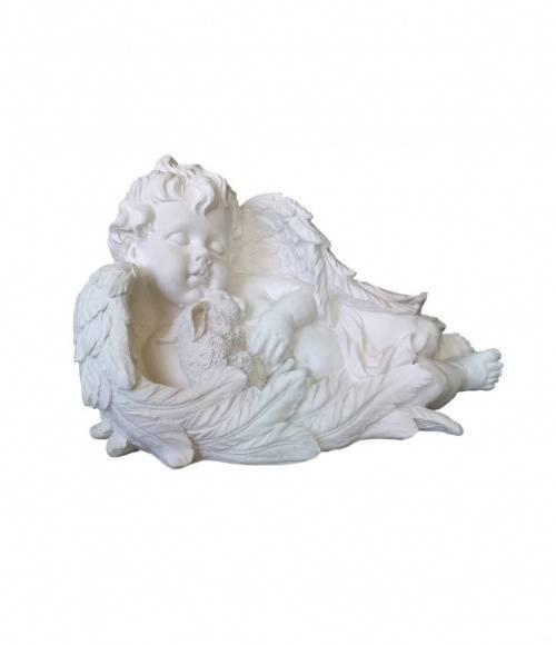 Скульптура 006 Ангел с зайцем 260*450*260