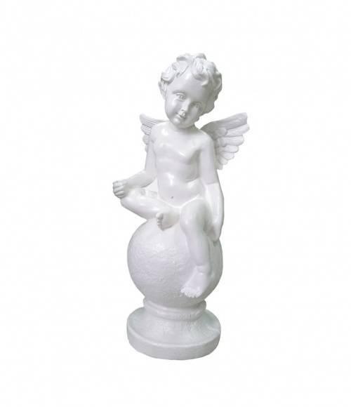 Скульптура 013 Ангел на шаре 370*170*130