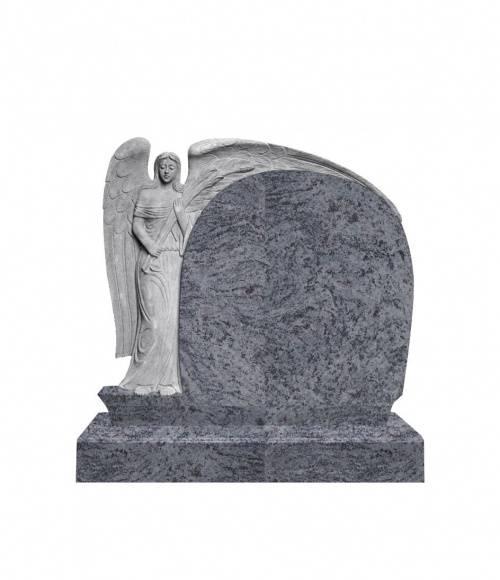 Памятник №3  элитный горизонтальный 1180*1300*120 (Индия, голубой)
