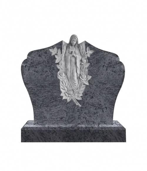 Памятник №10  элитный горизонтальный 1100*1300*100 (Индия, голубой)