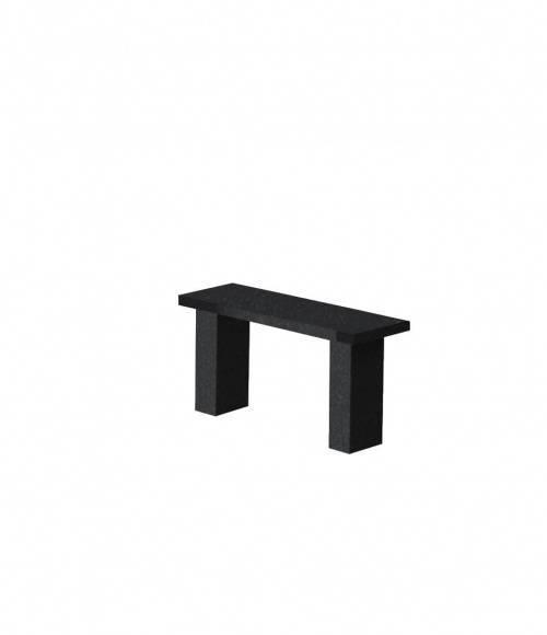 Скамья прямоугольная TSK90 (черная К06)