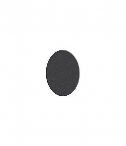Плитка овальная №S03 (Китай, черная К06) 400*300*10