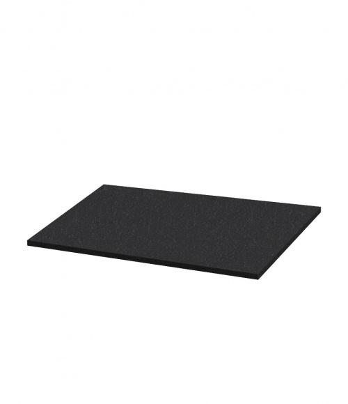 Надгробная плита N13 (Китай, черная К06) 600*550*30